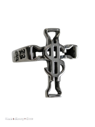 Unisex Ring Small Cross